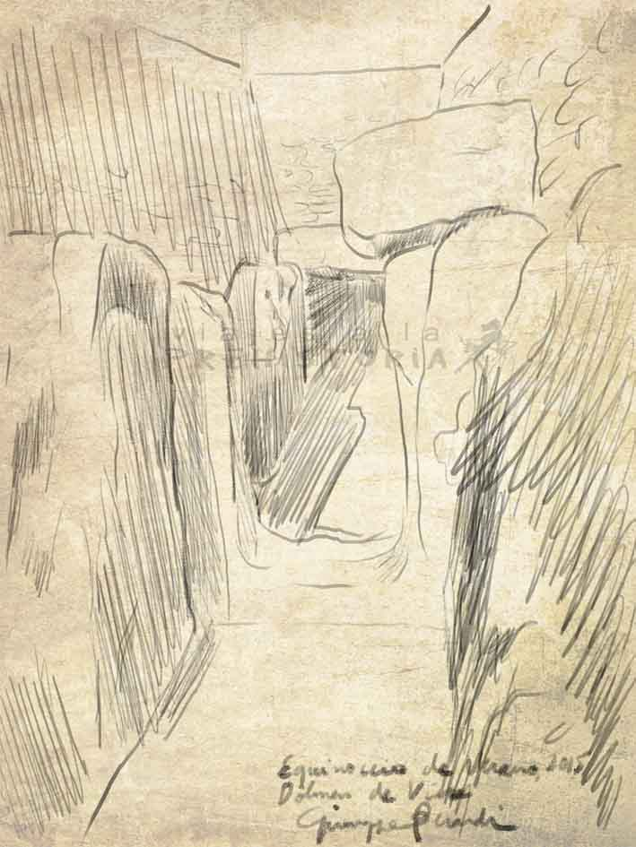 Dibujos  Dólmenes de Antequera