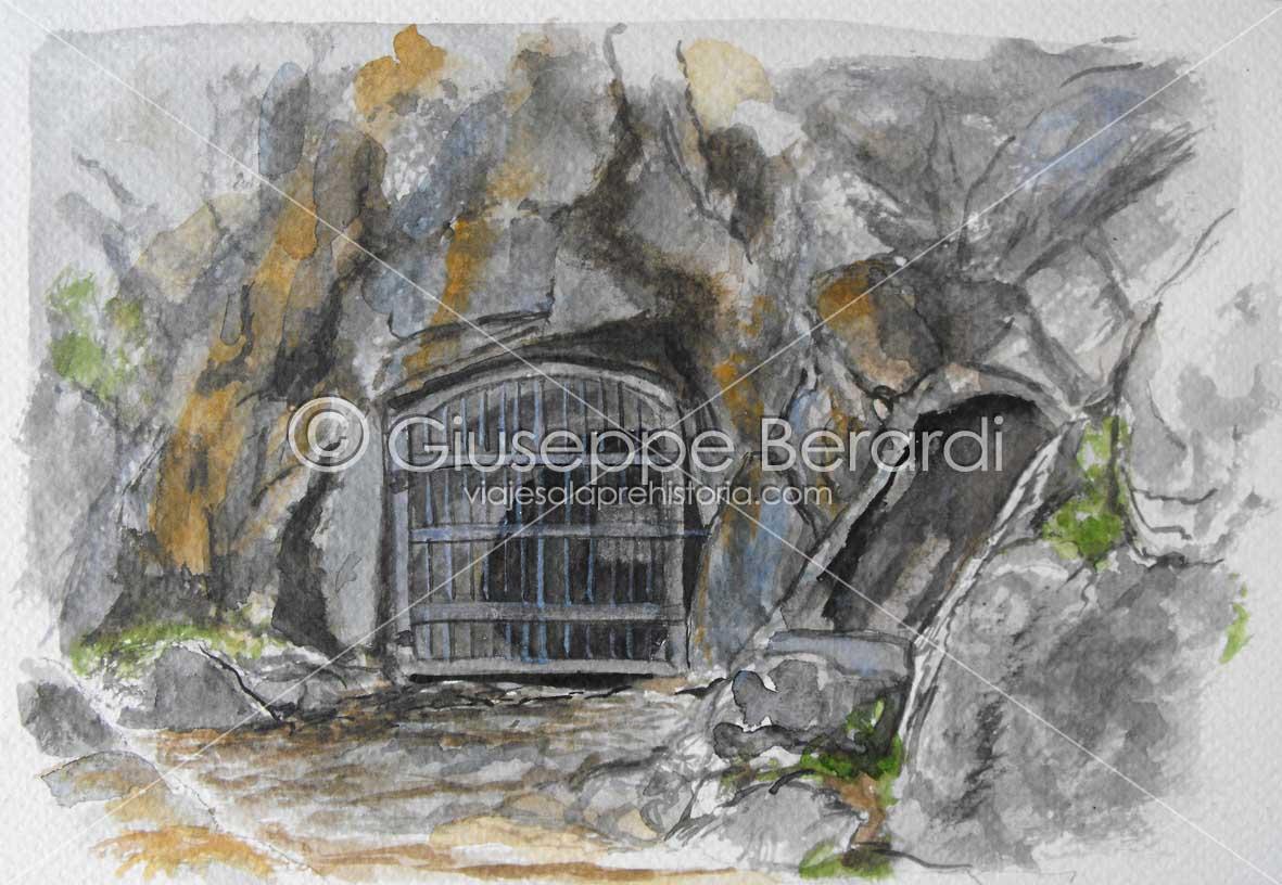 Cueva de la Pileta, entrada