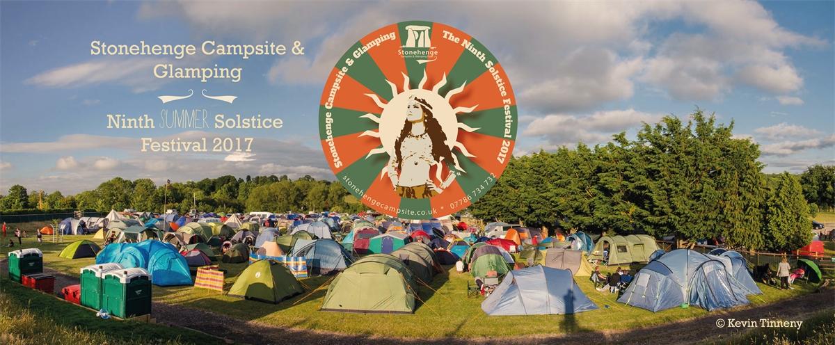 Stonehenge Campsite y Glamping: Festival 2017