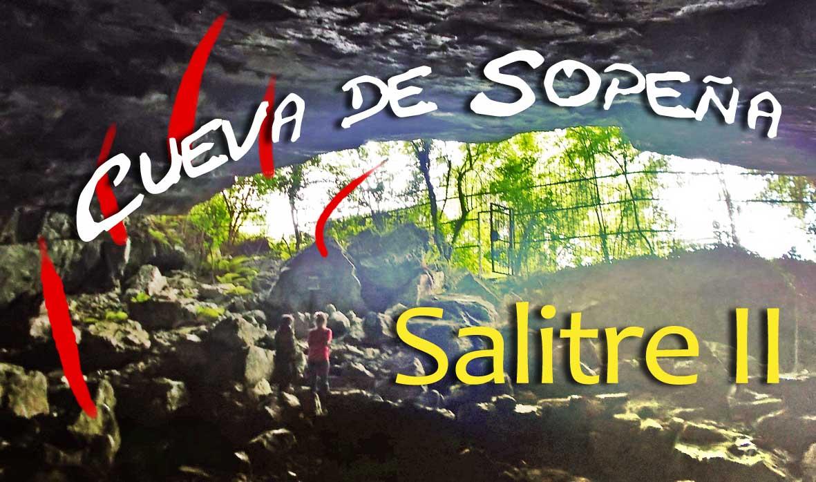 Cueva de Sopeña o Salitre II