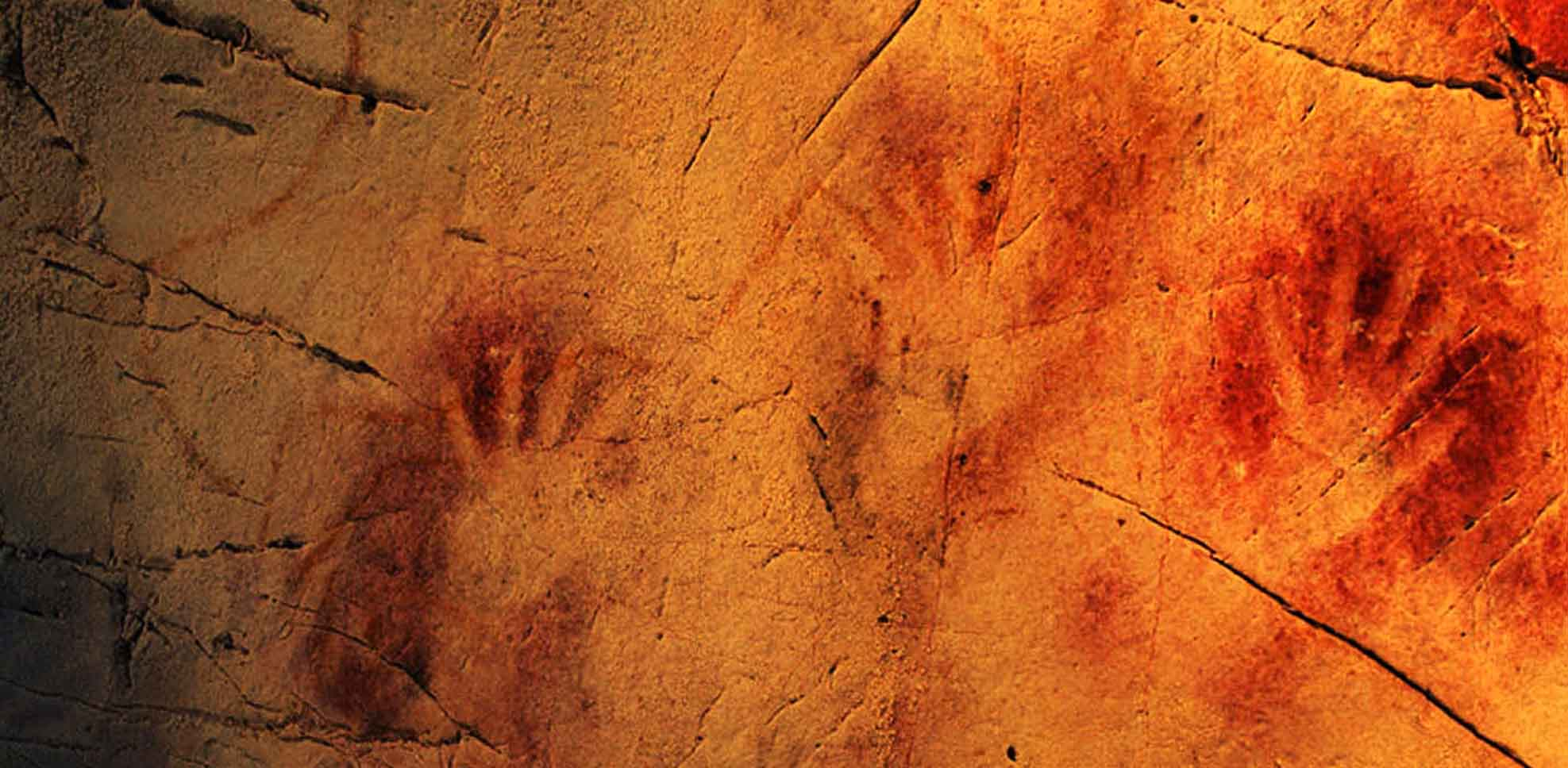 Encuesta Manos rupestres paleolíticas
