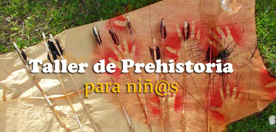 Talleres infantiles de Prehistoria y Arqueología por España