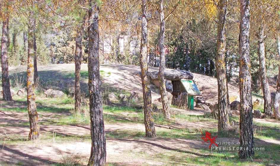 dolmen de los bermejales