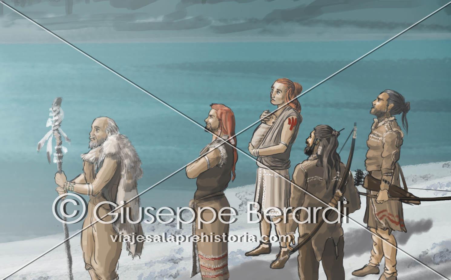 Ilustraciones de prehistoria
