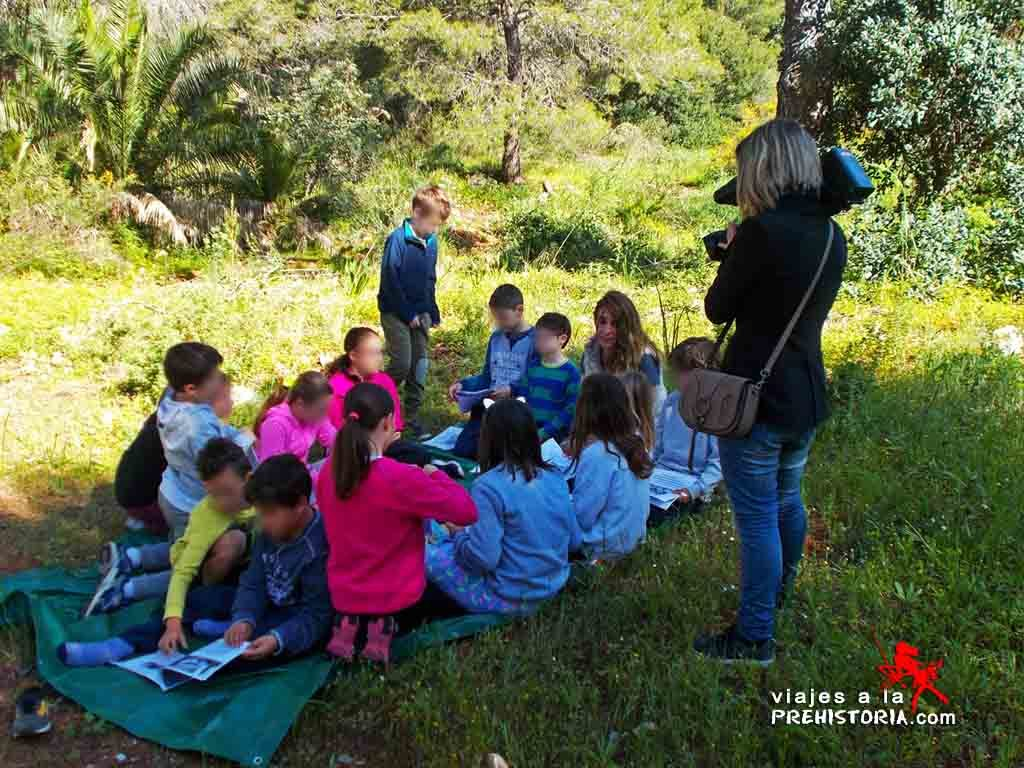 talleres de arqueología para niños