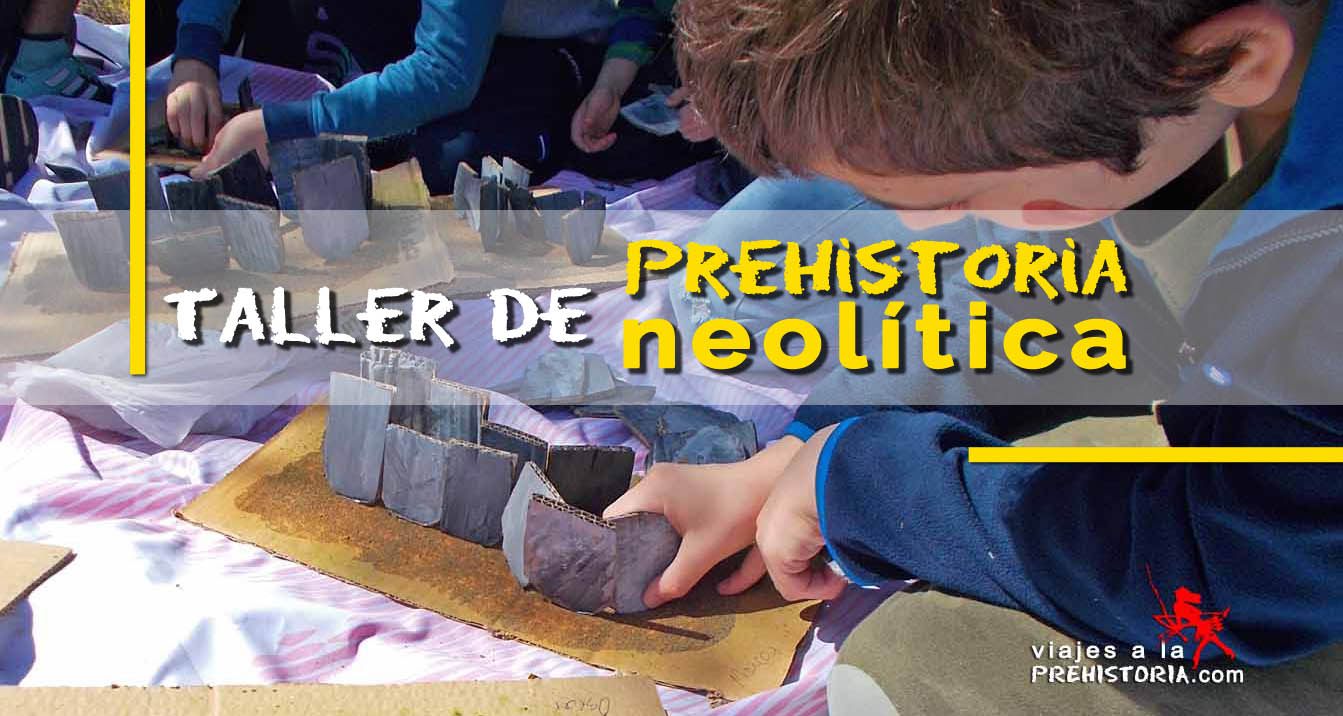 Taller de Neolítico para niños