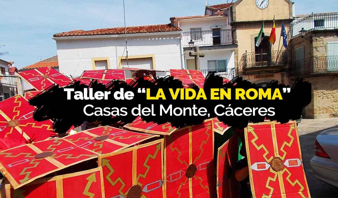 Taller de Roma para niños en Casas del Monte (Cáceres)