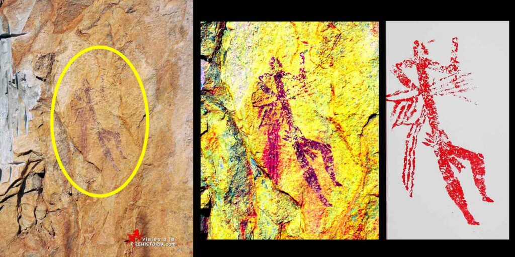 arte rupestre benirrama