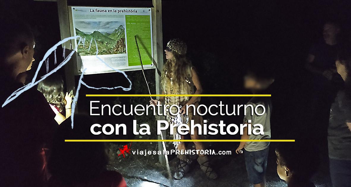 Cova del Parpalló,  velada prehistórica nocturna
