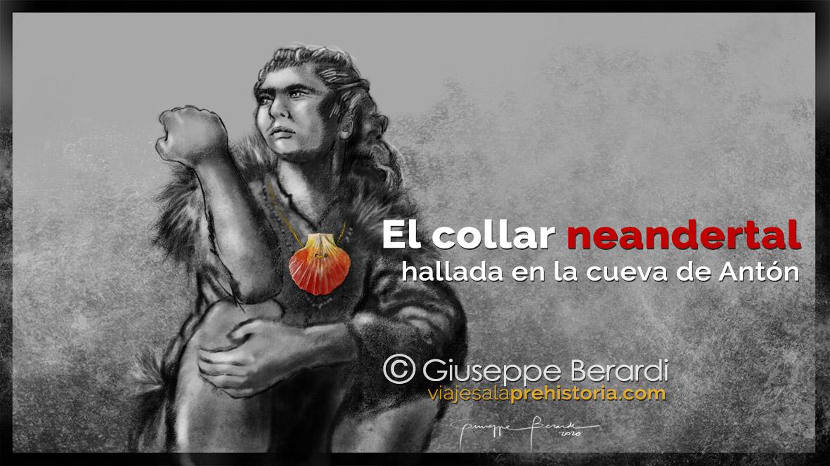 El collar neandertal de la Cueva de Antón